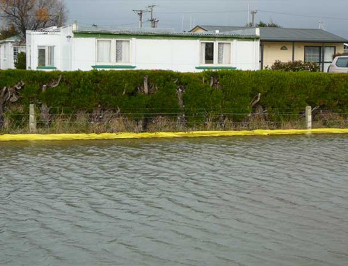 Protecting a residential area against flooding. Rotorua | New Zealand – 2009