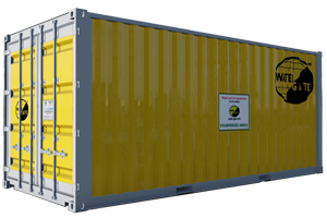 protection inondation container